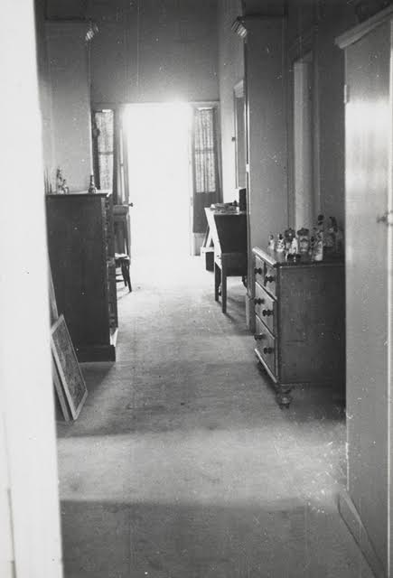 Photographer unknown,  The hallway, Heide  c1940, Reed/Heide Photograph Collection, State Library of Victoria, Melbourne