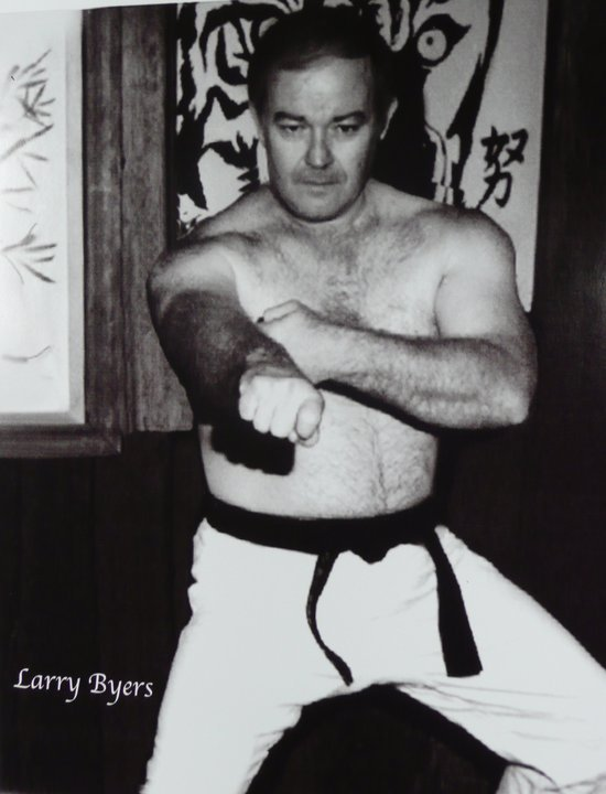 Soke Larry Byers, early days