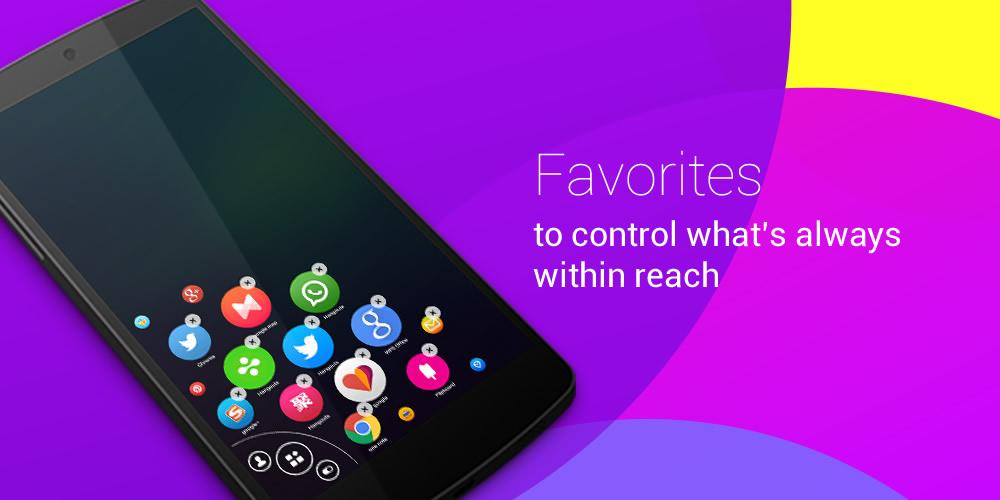 Omni Swipe   cleverly anticipates and organizes your apps based upon importance