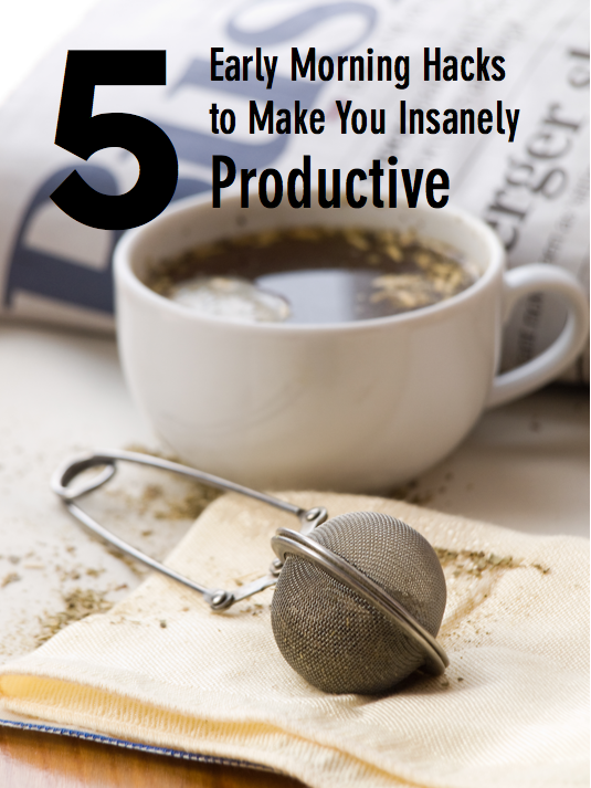 morning-hacks-make-you-productive