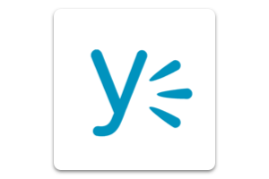 Yammer: Search and access your messages. Learn More.