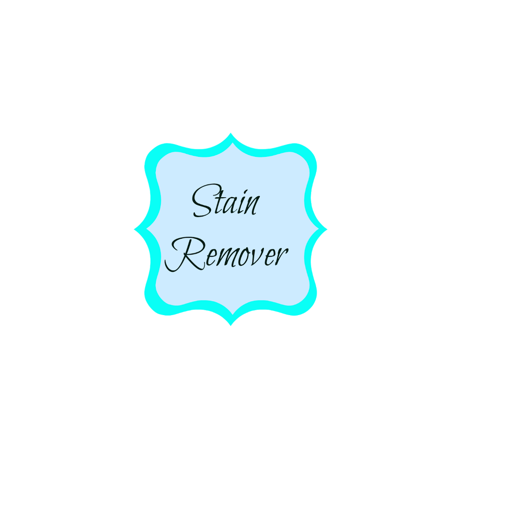 homemade stain remover label