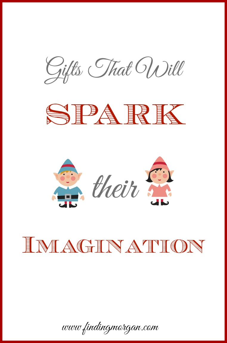 Gifts that will encourage imaginative and creative play