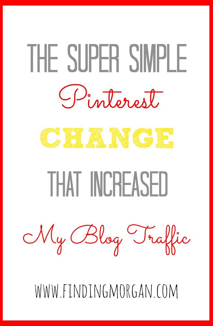 Increase blog traffic using Pinterest