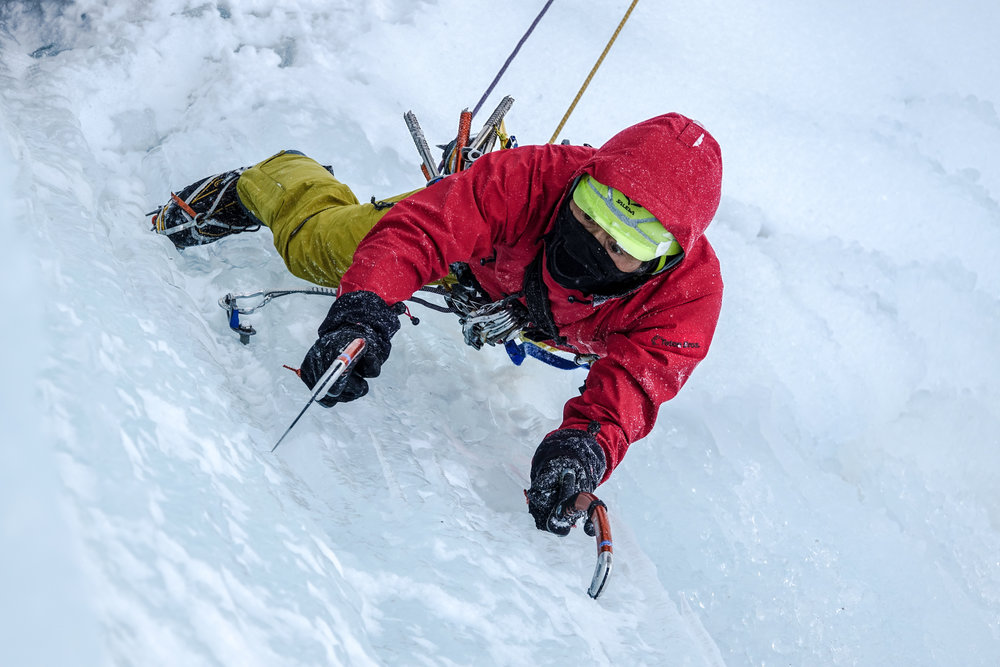 Tested on mountaineers, ice climbers, and backcountry riders -
