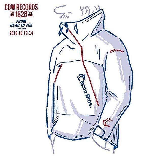 COW Records x Teton Bros - pop up shop #tetonbros