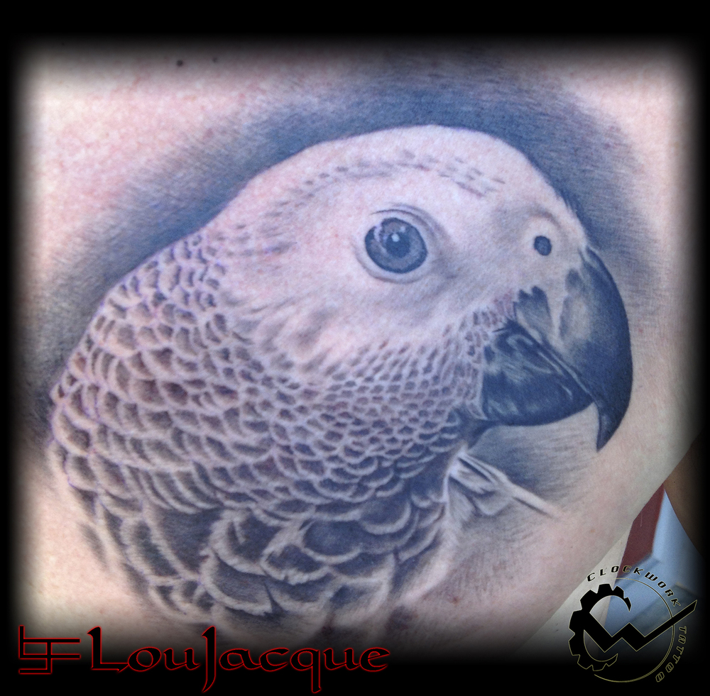 39ba9c3bf7a38 Lou Jacque — Clockwork Tattoo & Art Gallery