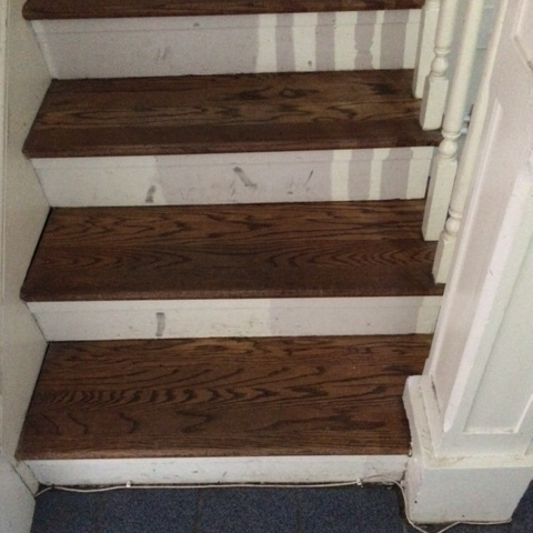 BEFORE : EVERY DETAIL DOWN TO STAIR TREADS MATTER