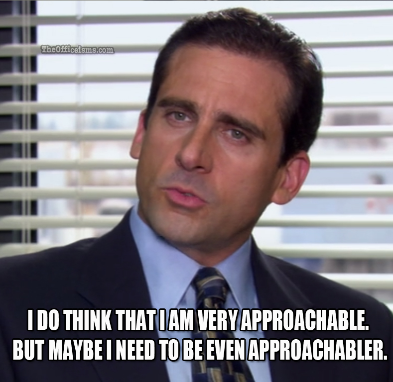 Michael Scott had the right idea.