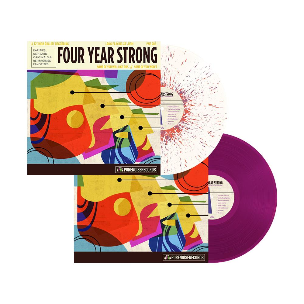 "Four Year Strong, ""Some of you will Like this, Some of you Won't"", Pure Noise Records"