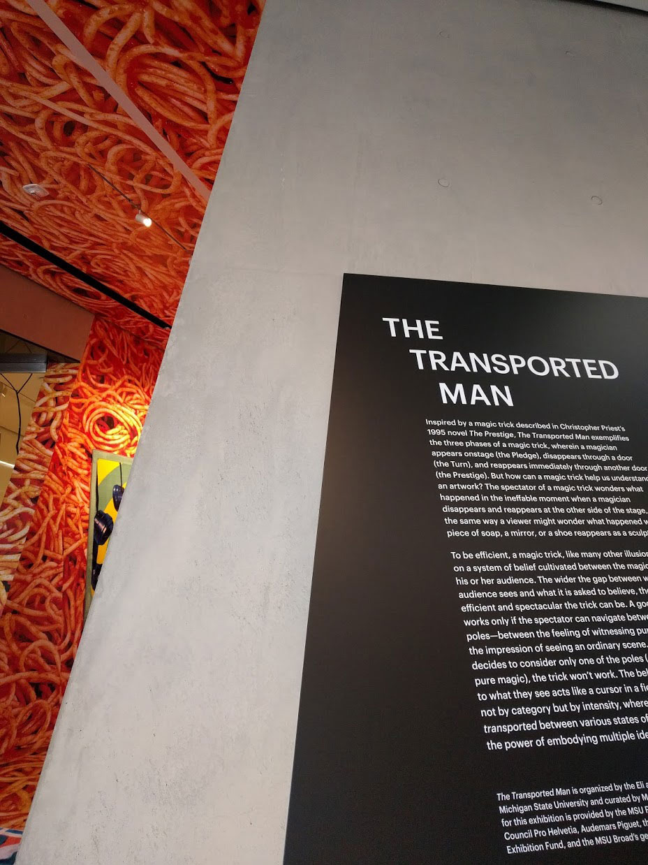 Transported Man at the Broad