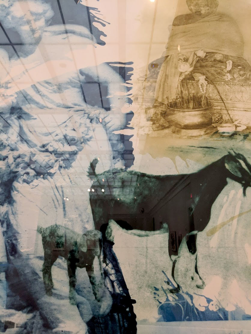 Rauschenberg - aquatint print