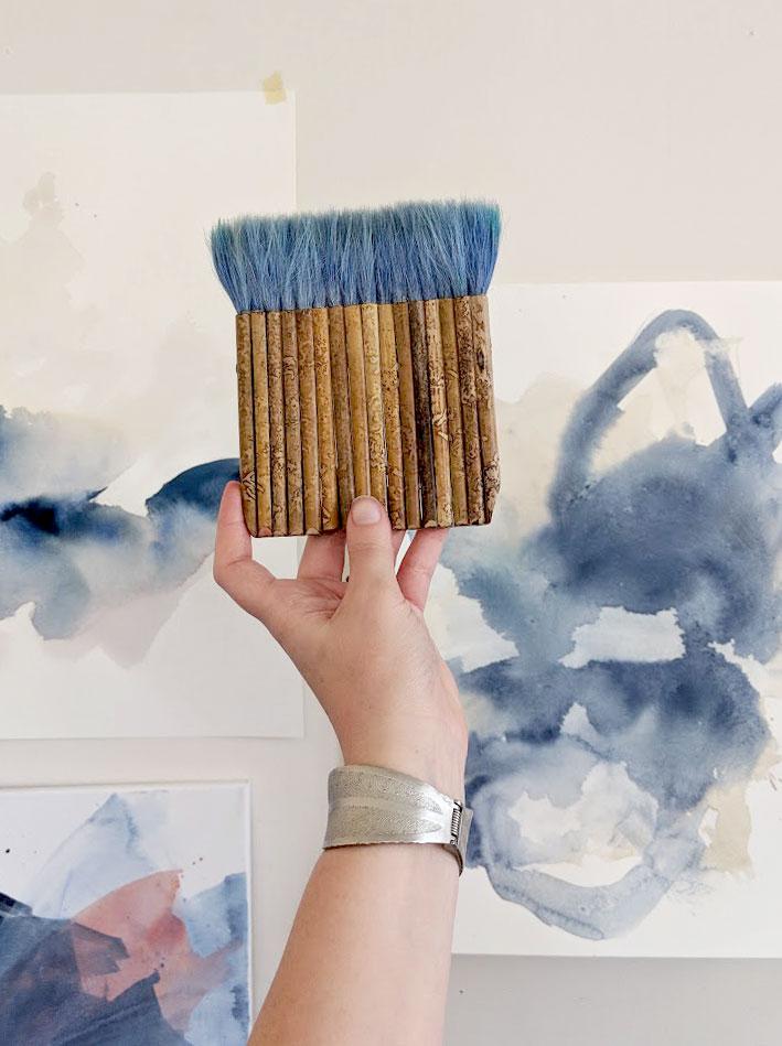 Eh Sherman Fine Art - hake brush