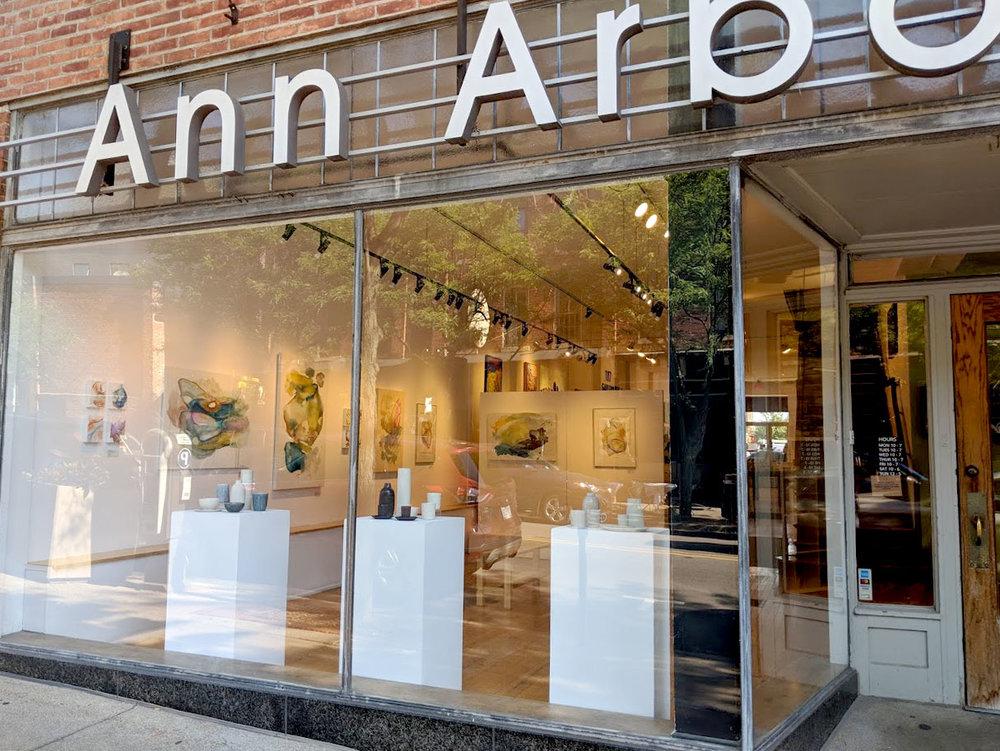 EH Sherman at the Ann Arbor Art Center