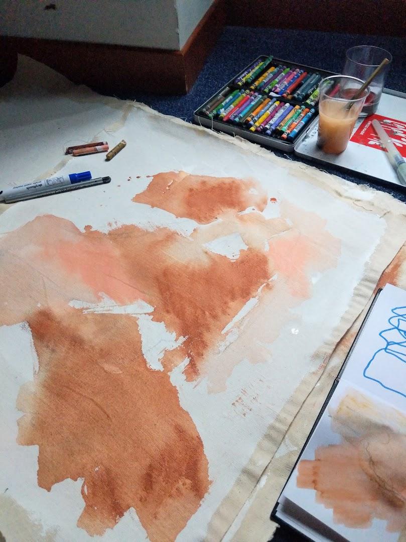 EH Sherman Art - Colors of Italy