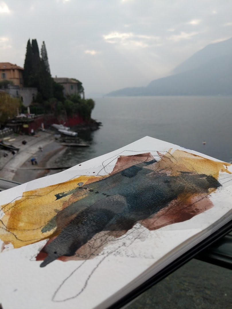 EH Sherman Art - Sketching in Italy