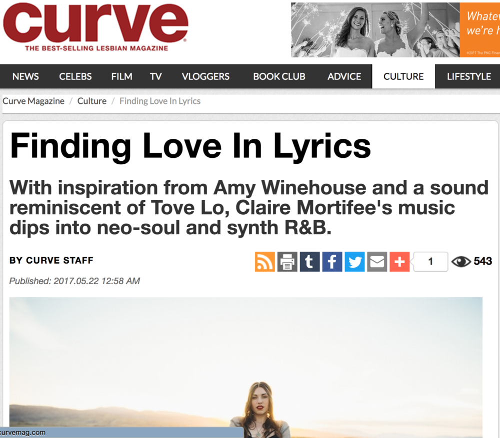 (( Curve Magazine )) 5/22/17