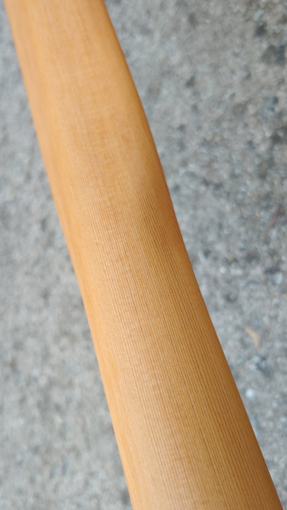 "Length 84"" | Loom 20"" | Blade Width 3 3/8""  Cedar | Oil Finish"