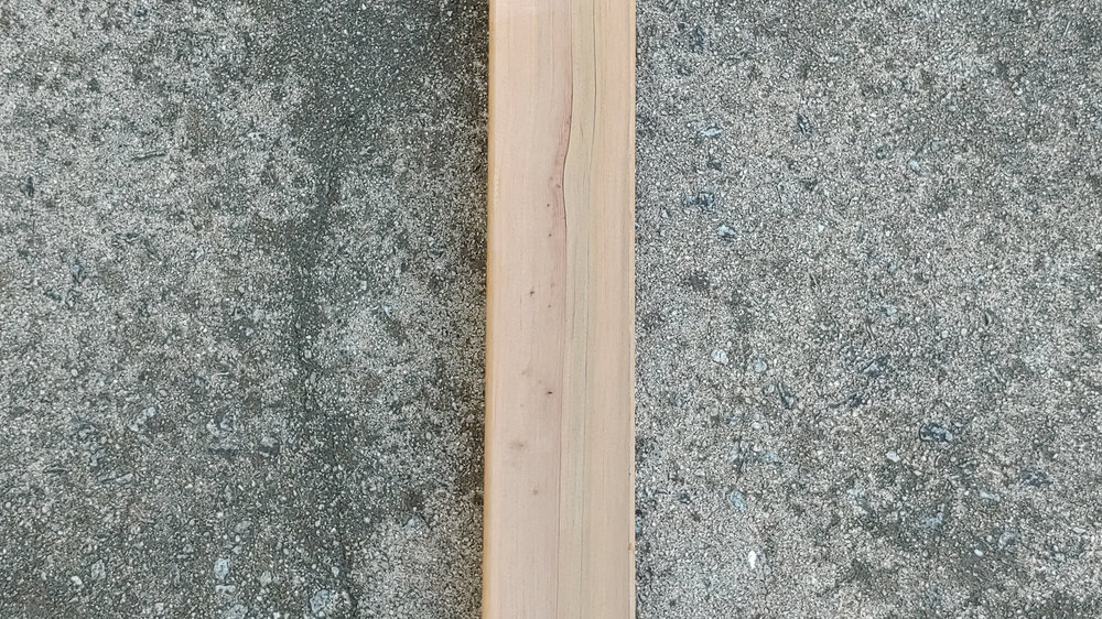 UNFINISHED - Shaped, sanded and ready for a finish