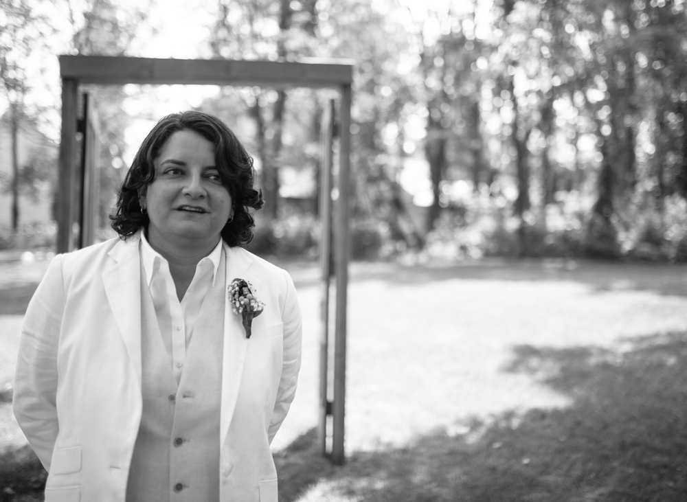"I had the joy of talking with Mari as she waited to see her bride for the first time on their wedding day. I asked her what she was thinking, and with a beautiful accent gave the most perfect answer: ""We are blessed. We are So. Blessed."""
