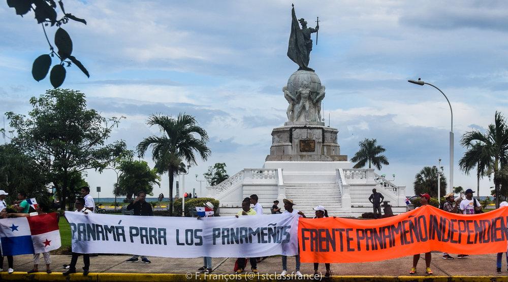 """Panama for Panamanians"""