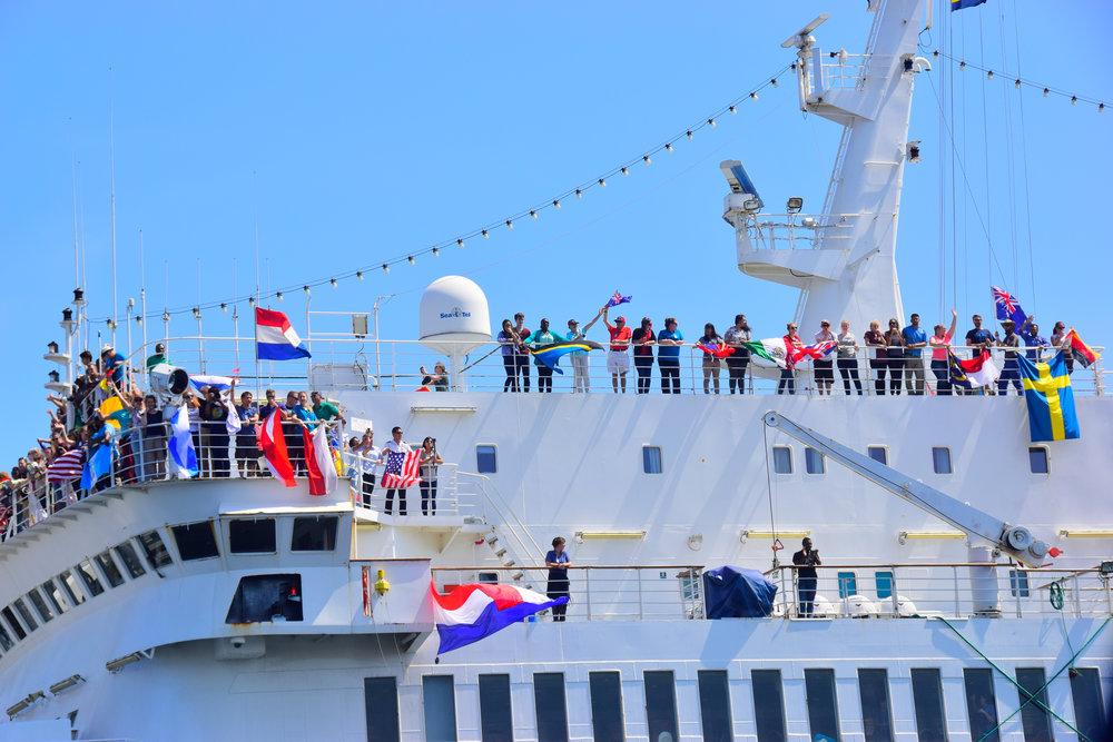 Cruise ship Curaçao