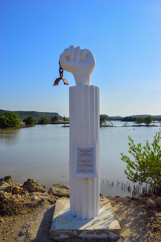 slave revolt monument Curaçao