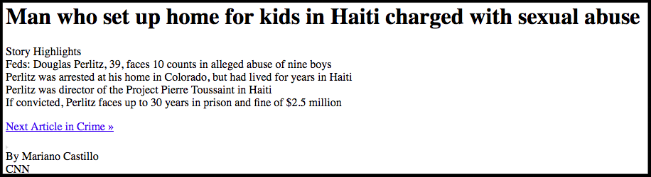Oxfam sex abuse scandal in haiti