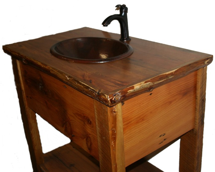 Barn Board Vanity with Log Trim.jpg
