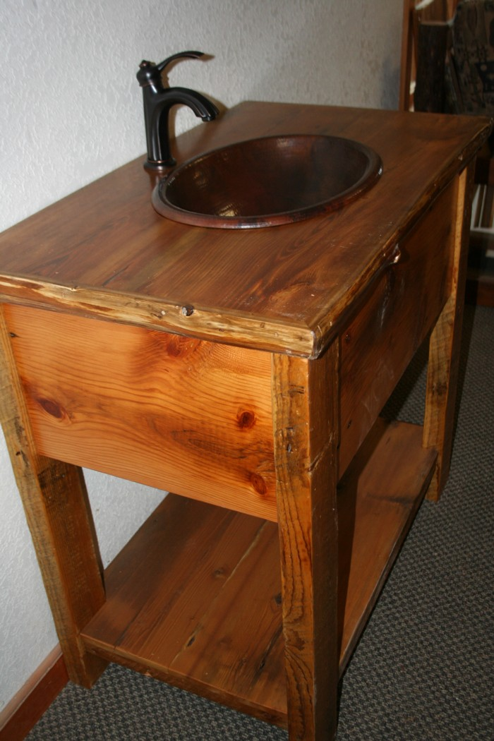 barn board vanity with log trim2.jpg