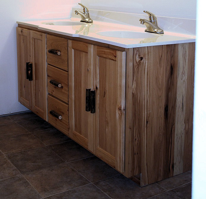 Barnwood Bathroom Vanity Style Bathroom Vanities Bathroom Rustic