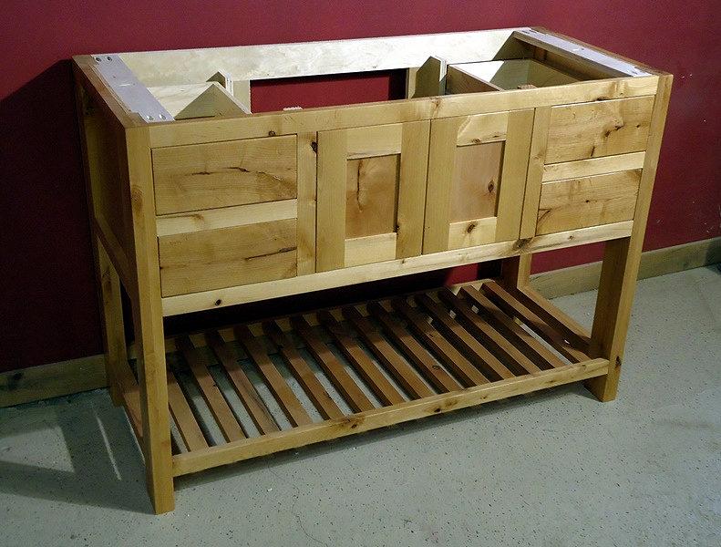 Rustic Minnesota Alder Vanity Barn Wood Furniture Rustic Furniture Log Furniture By Vienna