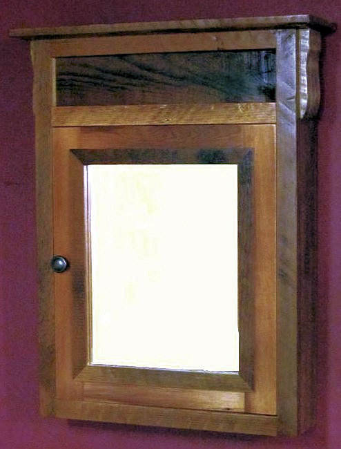 Vintage Barnwood Medicine Cabinet