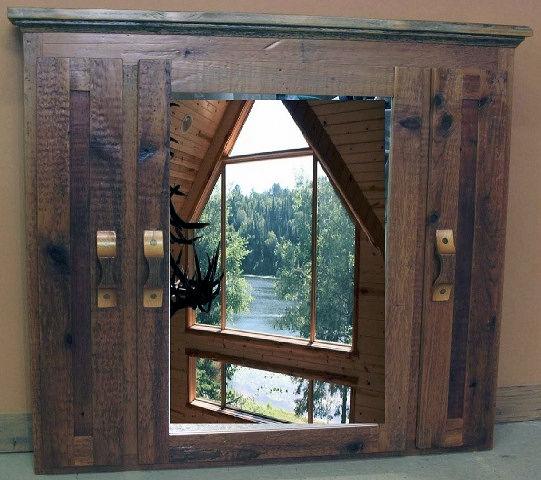 Rustic Medicine Cabinets Barn Wood Furniture Rustic Barnwood And