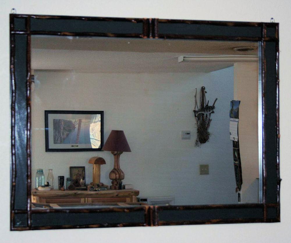 adirondack mirrorjpg - Rustic Bathroom Mirrors