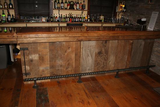 Barnwood Bar Barn Wood Furniture Rustic Barnwood And Log - Barnwood bar table