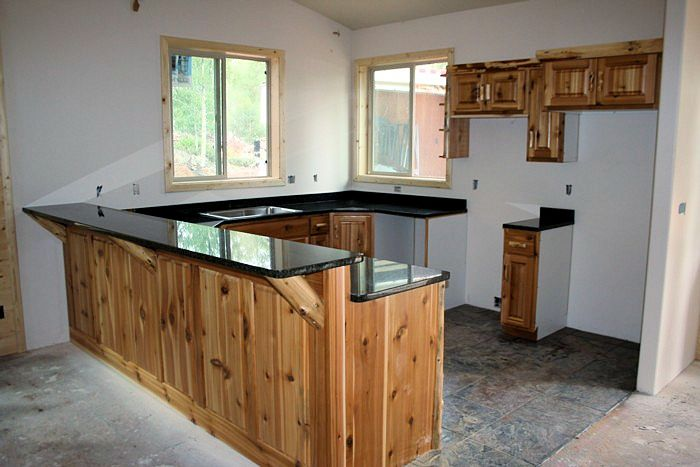 Perfect Cedar Kitchen 2