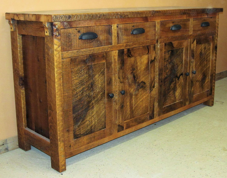 Rustic Kitchen Sideboard