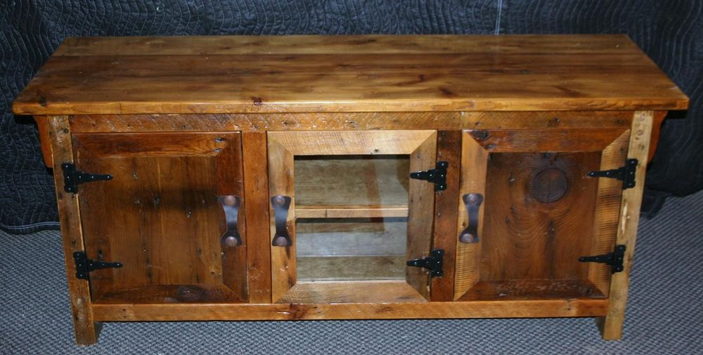 Antique Barnwood Buffet Barn Wood Furniture Rustic