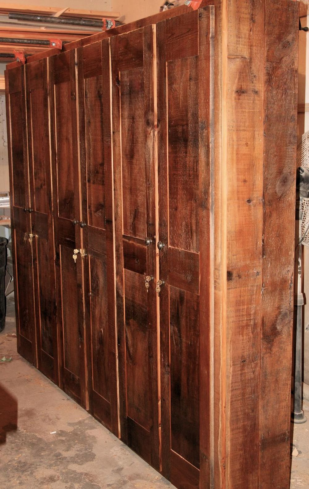 Rustic Storage Cabinets
