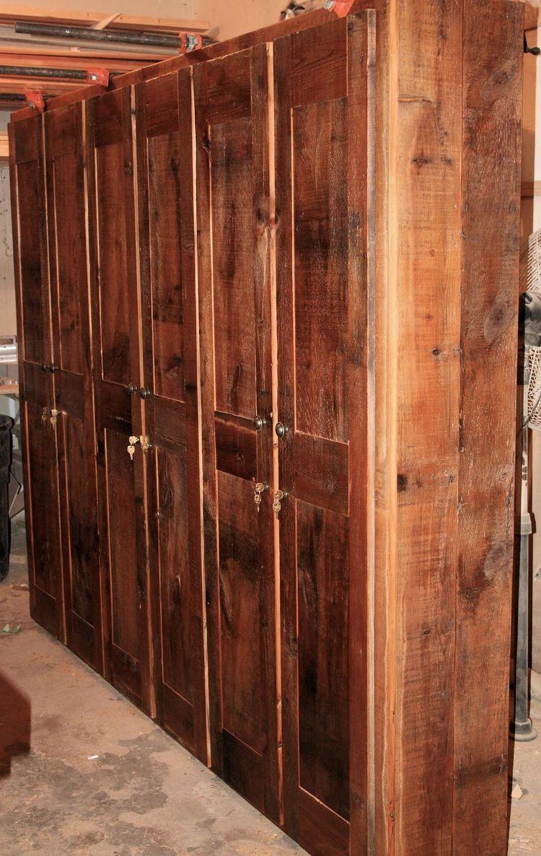Storage Cabinet Wood Rustic Storage Cabinets Barn Wood Furniture Rustic Furniture
