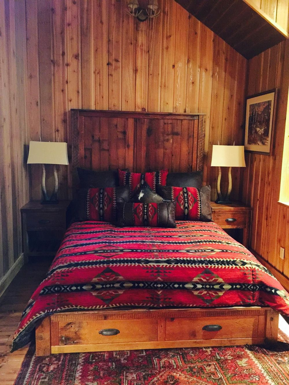 CLICK TO VIEW OUR RUSTIC BEDROOM PROJECT PHOTOS
