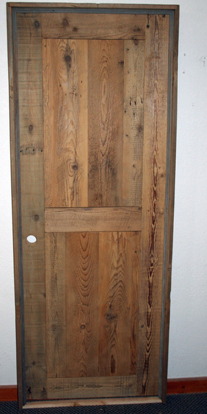 Rustic Wood Interior Doors rustic doors — barn wood furniture - rustic furniture - log