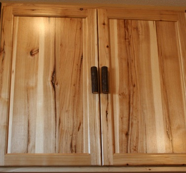 Rustic Hickory Character Wood Sample
