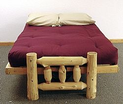 Cedar Log Futons Barn Wood Furniture