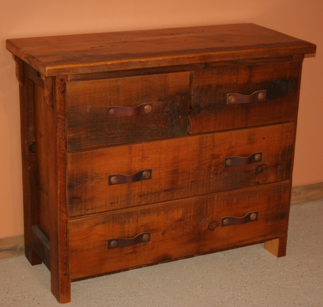 barnwood four drawer short dresser 2.jpg