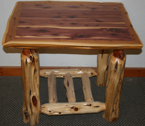 Elegant Red Cedar Juniper Night Stand112