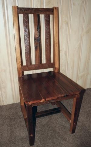 Wonderful Barn Wood High Back Dining Chair — Barn Wood Furniture - Rustic  IR35