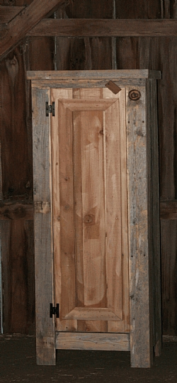 Reclaimed Wood Kitchen Pantry