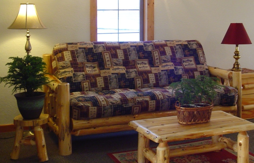white cedar log couch white cedar log couch  u2014 barn wood furniture   rustic barnwood and      rh   viennawoodworks